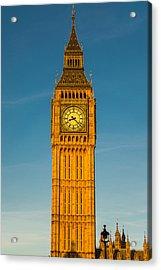 Big Ben Tower Golden Hour London Acrylic Print