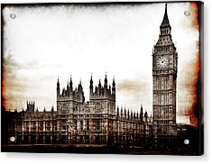 Big Bend And The Palace Of Westminster Acrylic Print