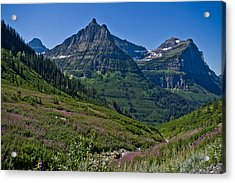 Big Bend, Glacier National Park Acrylic Print