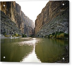 Big Bend Rio Grand River Acrylic Print