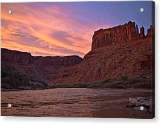 Big Bend, Utah Acrylic Print