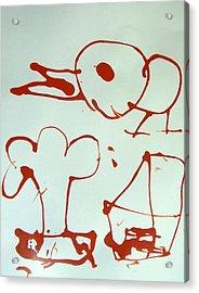 Big Bird Acrylic Print by Nanak Chadha