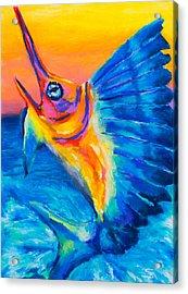 Big Blue Acrylic Print by Stephen Anderson