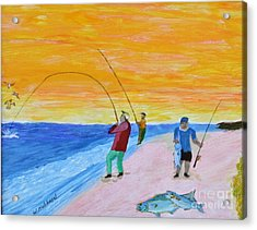 Big Blues At Herring Cove Acrylic Print