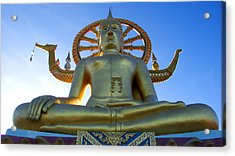 Big Buddha At Koh Samui Acrylic Print