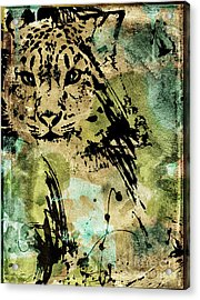 Big Cat Acrylic Print by Mindy Sommers