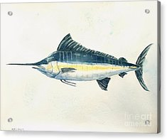Big Catch Acrylic Print