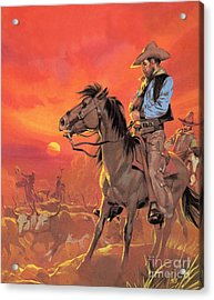 Big Country Acrylic Print by Angus McBride