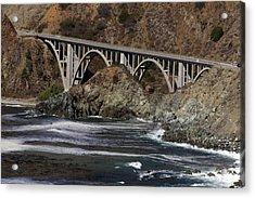 big creek Bridge Acrylic Print
