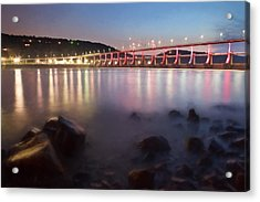 Big Dam Bridge Acrylic Print