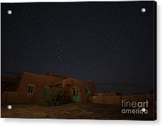 Acrylic Print featuring the photograph Big Dipper Over Pdi by Melany Sarafis