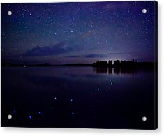 Big Dipper Reflection Acrylic Print