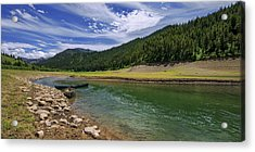 Big Elk Creek Acrylic Print by Chad Dutson