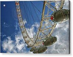 Big Ferris Wheel Acrylic Print by Patricia Hofmeester