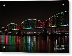 Big Four Bridge 2215 Acrylic Print