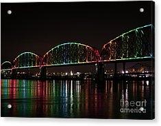 Big Four Bridge 2215 Acrylic Print by Andrea Silies