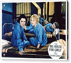 Big House For Girls Aka The Silver Acrylic Print by Everett