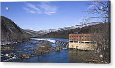 Acrylic Print featuring the photograph Big Island Power Plant by Alan Raasch