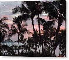 Big Island Sunset 2 Acrylic Print
