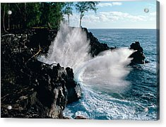 Big Island Waves Acrylic Print