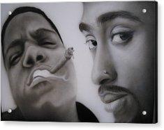 Big N' Pac Acrylic Print by Grant Kosh