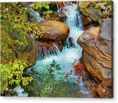Big Pine Creek Acrylic Print