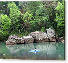 Big Piney Creek 1 Acrylic Print by Marty Koch