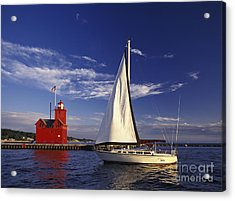 Big Red - Fm000060 Acrylic Print