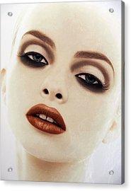 Big Red Lips Acrylic Print