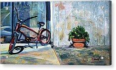 Big Red Sausalito Cruiser Acrylic Print