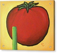 Big Red Tomato Acrylic Print