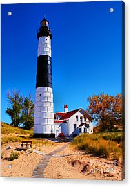 Big Sable Point Lighthouse Acrylic Print