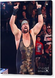 Big Show Acrylic Print by Wrestling Photos