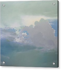 Acrylic Print featuring the painting Big Sky 2 by Cap Pannell