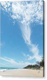 Big Sky Beach Acrylic Print