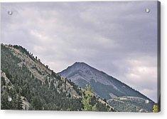 Big Sky Country - Montana Acrylic Print by Janis Beauchamp
