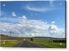Acrylic Print featuring the photograph Big Sky Country by Odille Esmonde-Morgan