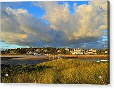 Big Sky Over Sesuit Harbor Acrylic Print