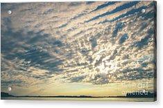Big Sky Over The Rideau Lakes Acrylic Print by Cheryl Baxter