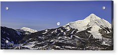 Big Sky Panorama Acrylic Print