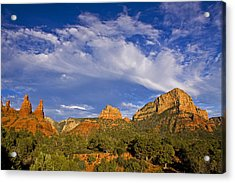 Big Sky Red Earth Acrylic Print