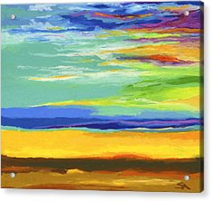 Big Sky Acrylic Print by Stephen Anderson