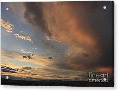 Big Sky Sunset 2 Acrylic Print