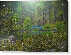 Big Springs Gardens Acrylic Print