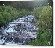 Big Springs Waterfall Acrylic Print by Susan Pedrini