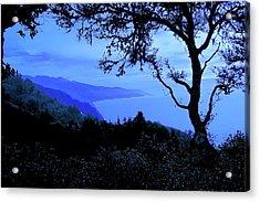 Big Sur Blue, California Acrylic Print