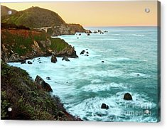 Big Sur Sunrise Acrylic Print