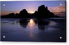 Big Sur Sunset Acrylic Print by Pierre Leclerc Photography