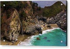 Big Sur Waterfall Acrylic Print