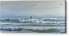 Acrylic Print featuring the photograph Big Surf Invitational I by Thierry Bouriat